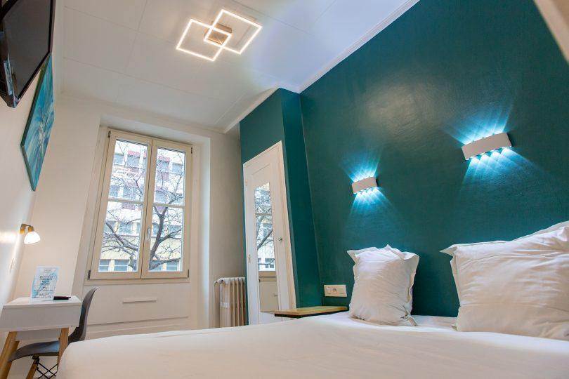 Chambre double hotel